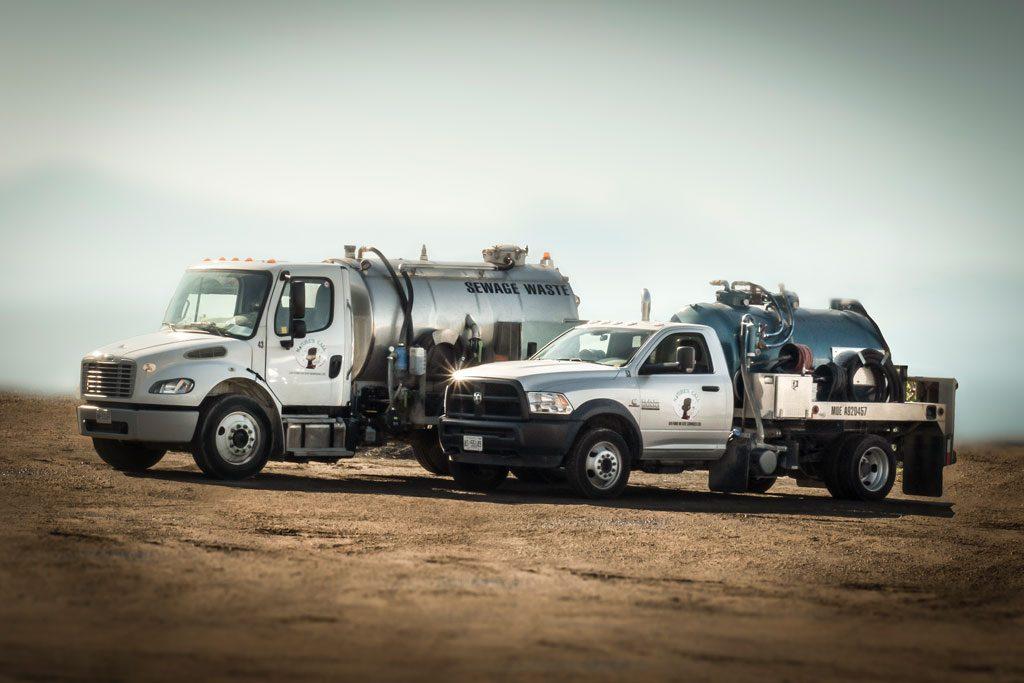 Sewage and Pumper Trucks